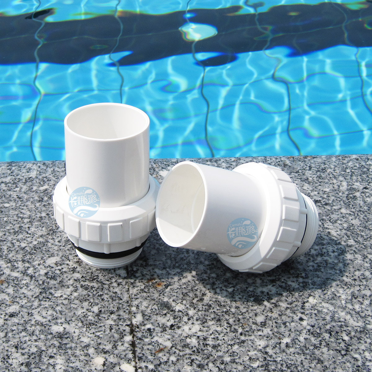 """Swimming pool metric and inch male loose joint 1.5"""" and 2 """"pump loose joint sand filter pipe joint(China (Mainland))"""