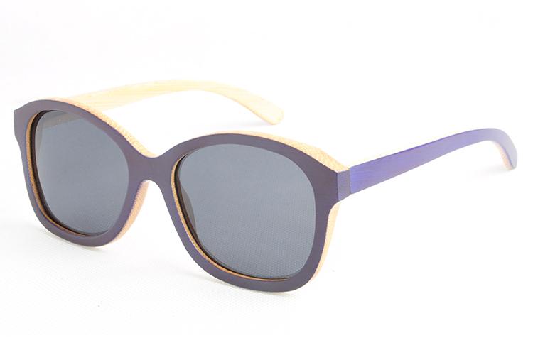 Free shipping bamboo wooden sunglasses Cat's eye frame sunglasses Women Ls1026(China (Mainland))