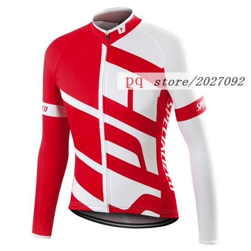 SL TEAM EXPERT cycling Jersey 2016 New Red black and white bike sports wear Breathable long sleeve MTB clothing ropa de ciclismo(China (Mainland))