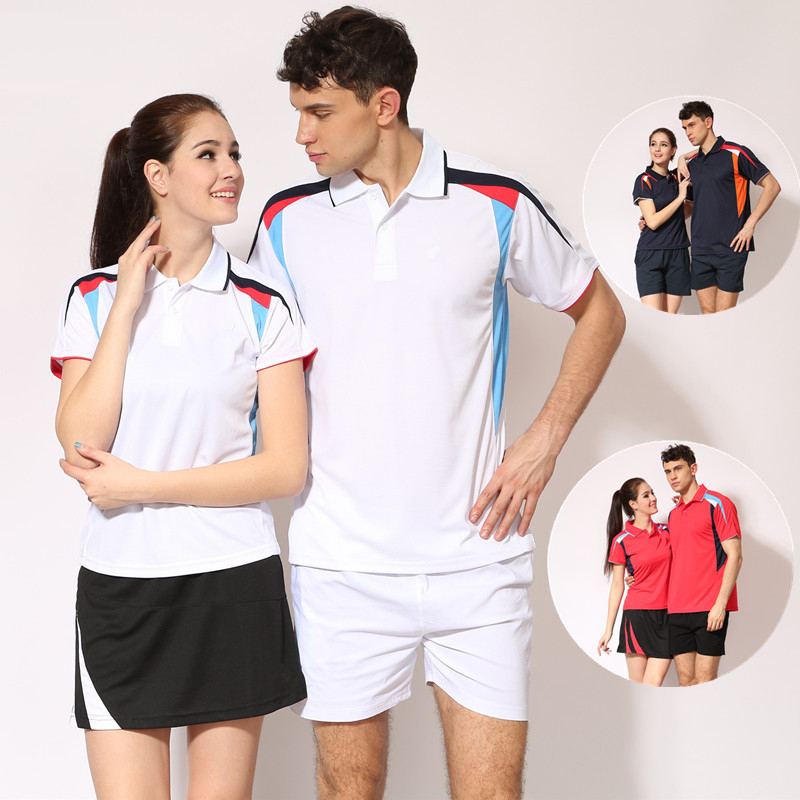 C5 New men women casual sports clothes ping pong jerseys speed dry table tennis suit team travel service group wholesale w1518(China (Mainland))