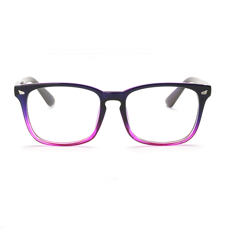Glasses Frames Geek : 9 Color Hot optical myopia glasses clear lens eyewear nerd ...