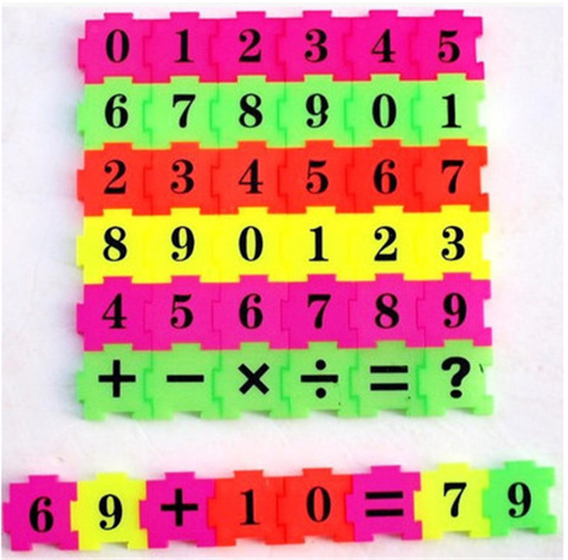 36PC Children Baby Kid Newborn Early Learning Count Numbers Jigsaw Puzzle Educational Toy Gift(China (Mainland))