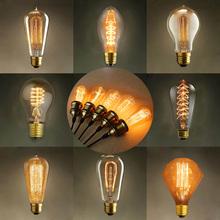 Hot Sale Vintage Edison Bulb Light Lamp AC 110V/220V E27 Vintage Incandescent Lamp Decor Light Bulb Warm White Wholesale(China (Mainland))