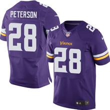 2016 elite Men Minnesota Vikings 5# Teddy Bridgewater 28 Adrian Peterson 22 HARRISON SMITH Diggs Purple/White 11 Laquon Treadwel(China (Mainland))
