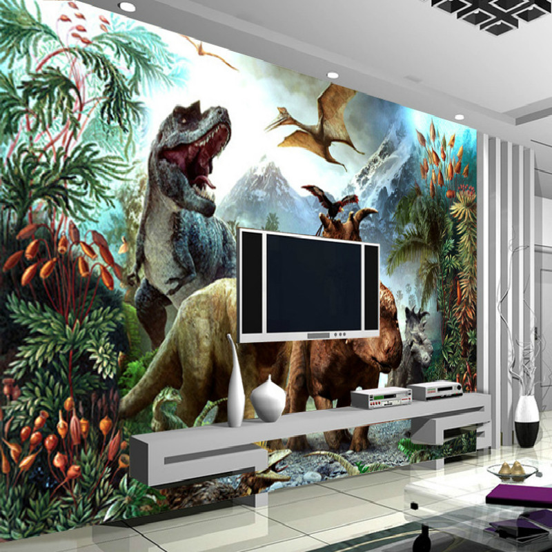 Murals flowers picture more detailed picture about mural for Children s mural wallpaper