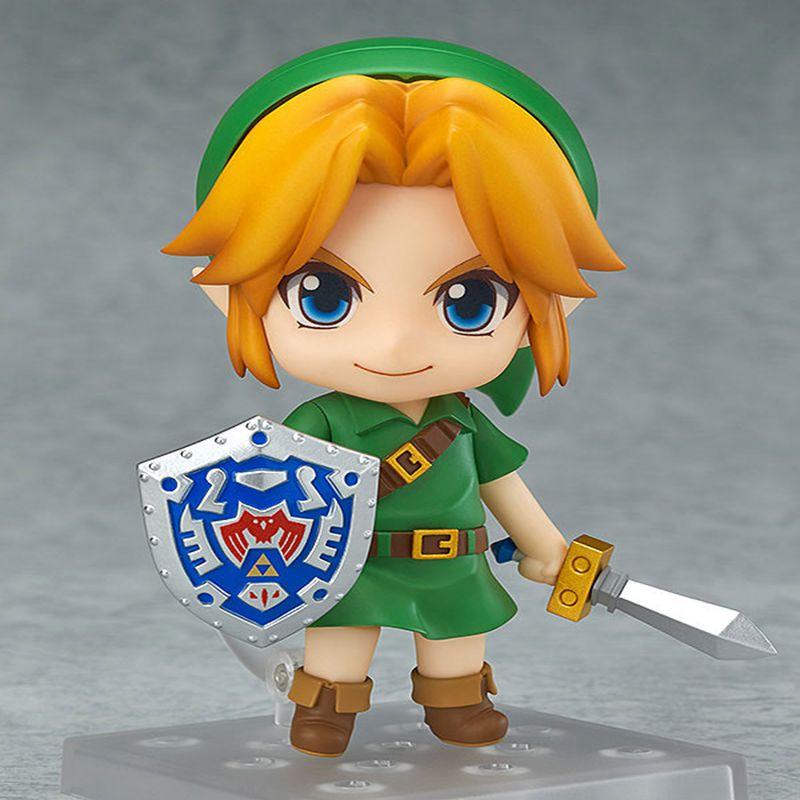 Anime The Legend of Zelda Link 553 Majora's Mask 3D Ver 10cm Action Figure model juguetes kids toys gift Original box(China (Mainland))