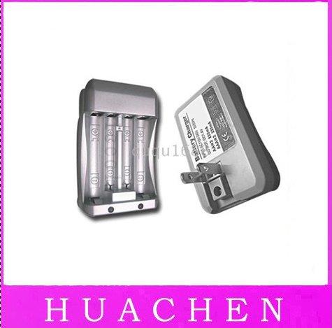 7033 Free Shipping 100pcs/lot AAA AA Ni-MH NIMH Ni-Cd Rechargeable BATTERY Charger(China (Mainland))