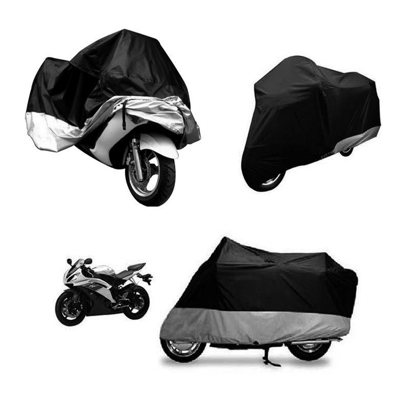 New Arrival XL Motorcycle Cover Waterproof Outdoor Uv Protector Bike Rain Dustproof,Covers for Motorcycle, Motor Cover Scooter(China (Mainland))