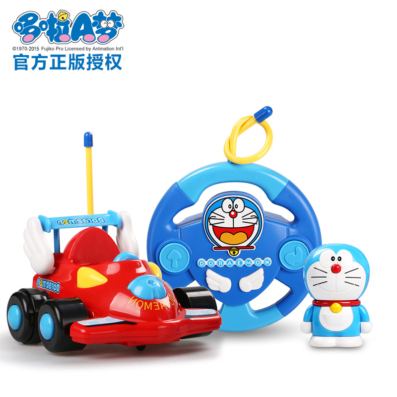 Cartoon characters hand to do baby toy car remote control car with music light electric ruggedness remote control car model 831(China (Mainland))