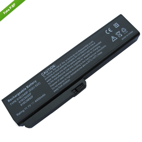 Battery FOR Fujitsu- Si1520 V3205 564E1GB SQU-518,SQU-522,916C4850F,916C5030F 3UR18650F-2-QC-12,3UR18650F-2-QC-12W(China (Mainland))
