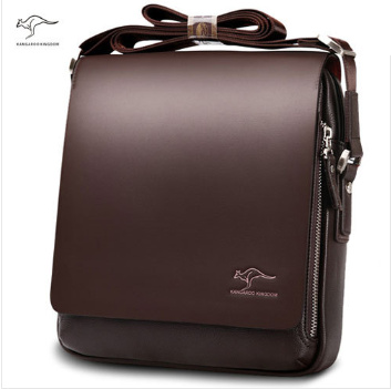 New Kangaroo design leather men Shoulder bags, men's casual business messenger bag,vintage crossbody ipad Laptop briefcase(China (Mainland))