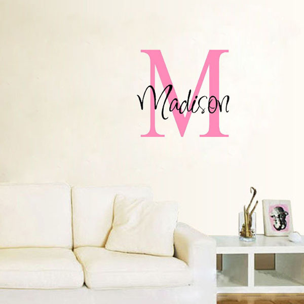 Personalized wall decor for kids