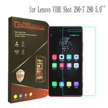 Buy 9H 2.5D Lenovo VIBE Shot Tempered Glass Screen Protector Lenovo Z90 Z90-7 5inch Anti-explosion Glass Film for $2.99 in AliExpress store