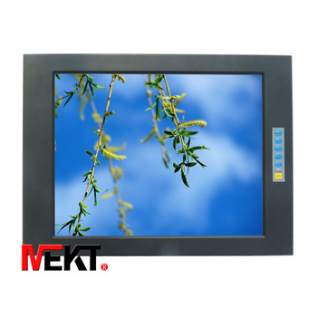 15 inch industrial touch monitor, aluminum frame embedded monitors