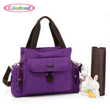 New arrival large capacity multifunctional nappy bag messenger bag font b maternity b font infanticipate bag