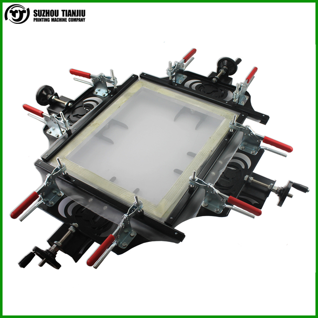 "TJ 2016 Newly Manual screen printing mesh stretcher size:60x60cm(24""x24"")"