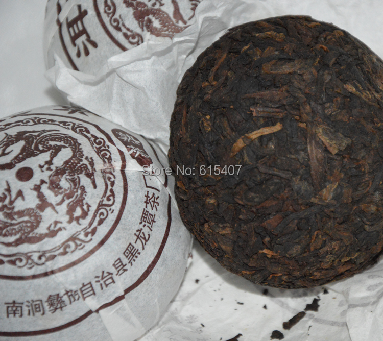 china tea Premium Yunnan puer tea Old Tea Tree Materials Pu erh 100g Ripe Tuocha Tea