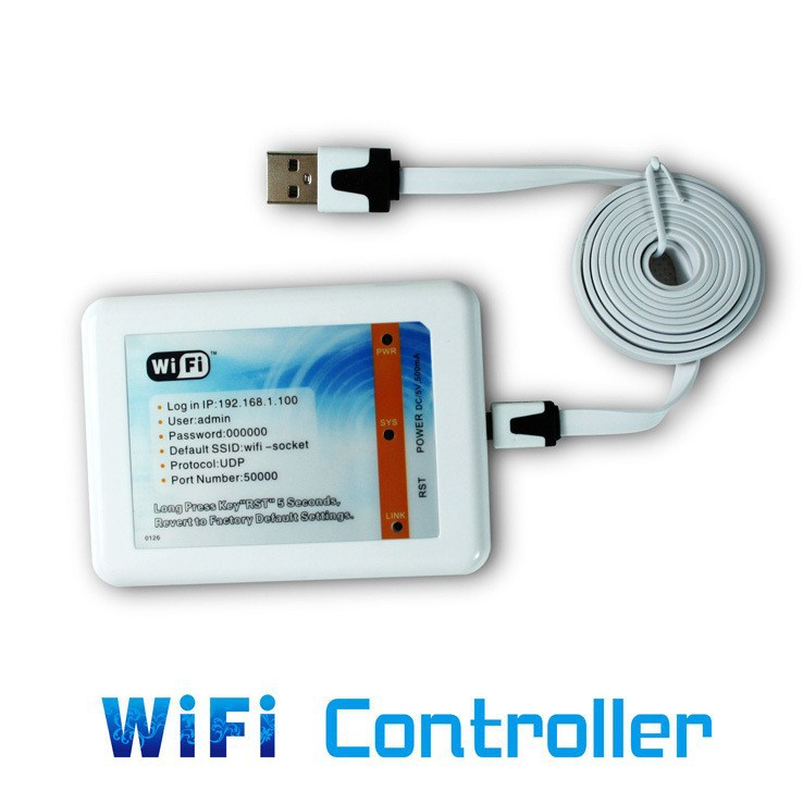2.4G WiFi Wireless Controller RGB RGBW Strip Bulb Android IOS Mobile(China (Mainland))
