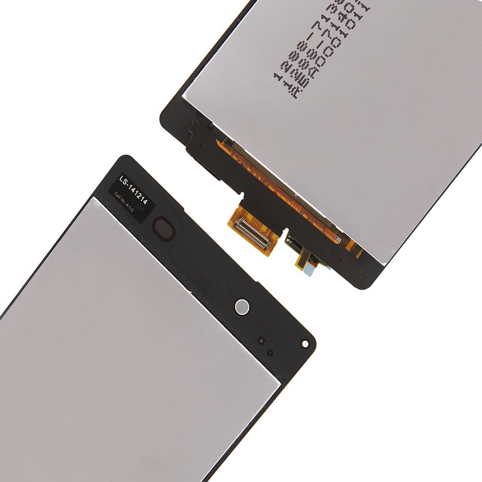 100% гарантия для sony xperia z4 z3 + ЖК-экран с сенсорным экран дигитайзер Ассамблеи белый