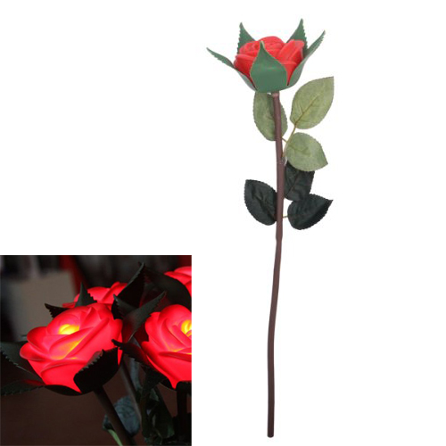 NFLC Valentine Gift Never Fade Rose Flower LED Lamp--Red<br><br>Aliexpress