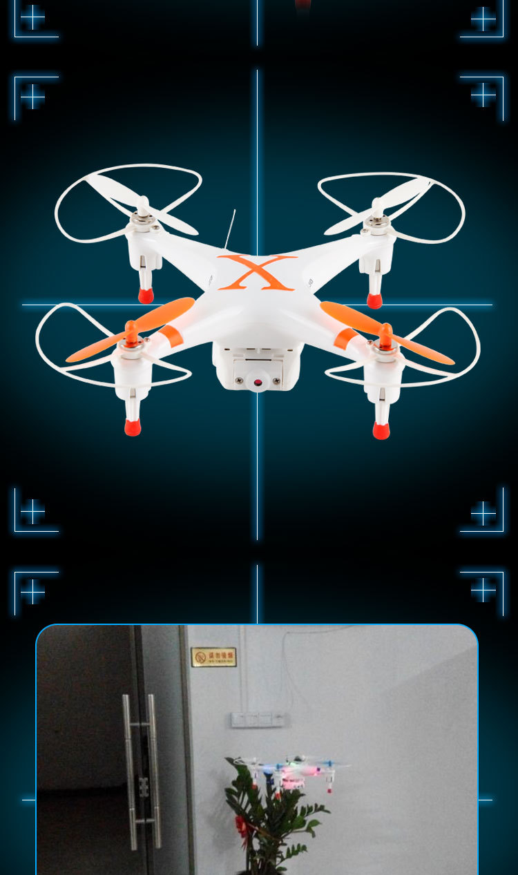 Free shipping Cheerson FPV CX 30W Quadcopter Wifi Phone Control Helicopter 2 4G 6 Axis Drones