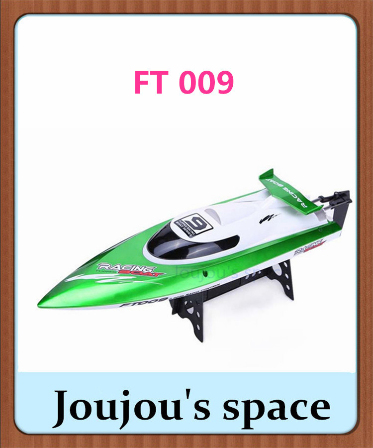 FT009 2.4G 4CH Remote Control High Speed RC Racing Boat with Water Cooling System(China (Mainland))