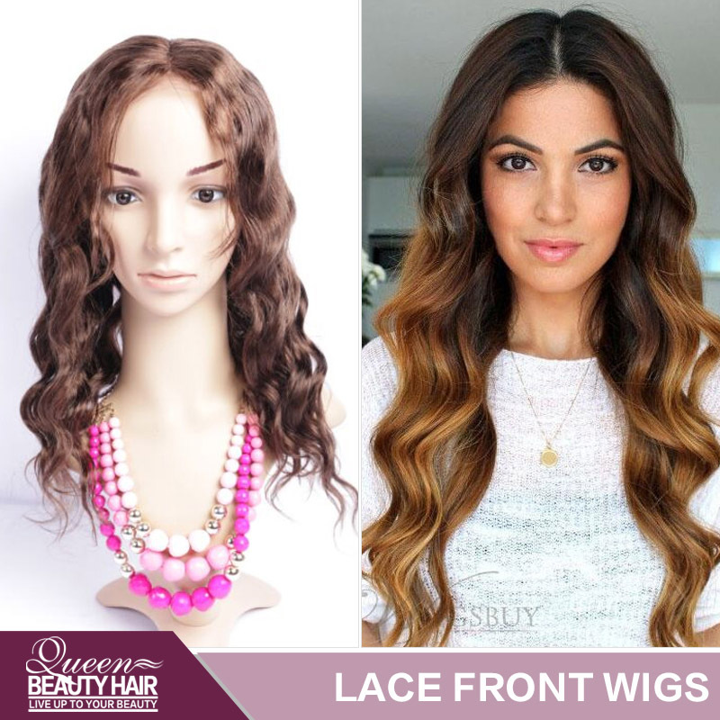 Best Quality Full Lace Human Hair Wigs / Lace Front Human Hair Wigs For Black Women Color #1 #1b #2 #4 Brazilian Virgin Hair Wig(China (Mainland))
