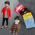 Baby Girls Cardigan Toddler Kids Candy Colors Sweater Knit Long Sleeve Warm Wool Sweater Spring Autumn