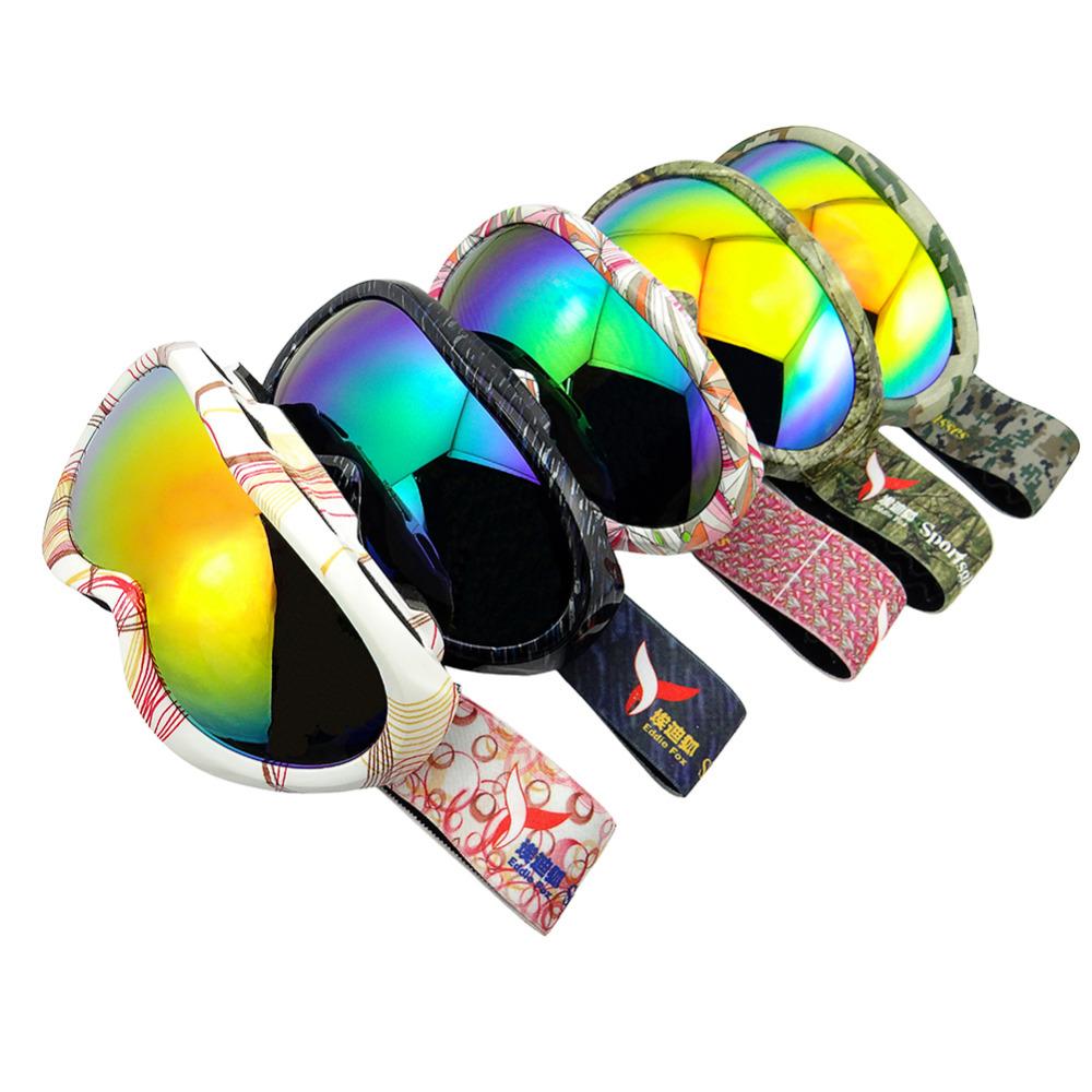 New Children Snowboard Ski Goggles Anti-Fog Double Lens Spherical Kids Sport Glasses snowboard goggles hot sale 2015 1Pcs