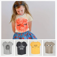 2015 bobo choses children t shirts for girls tops catimini girls clothing kids clothes roupas infantis