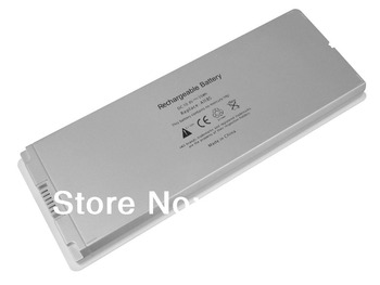 Laptop Battery for APPLE A1185 MA561 MA561FE/A Silver one free shipping
