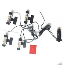 Buy car Interior LED light Decorative Atmosphere Light Lamp FOR Peugeot 307 206 407 308 406 Citroen C4 C5 C3 Nissan Qashqai for $12.88 in AliExpress store