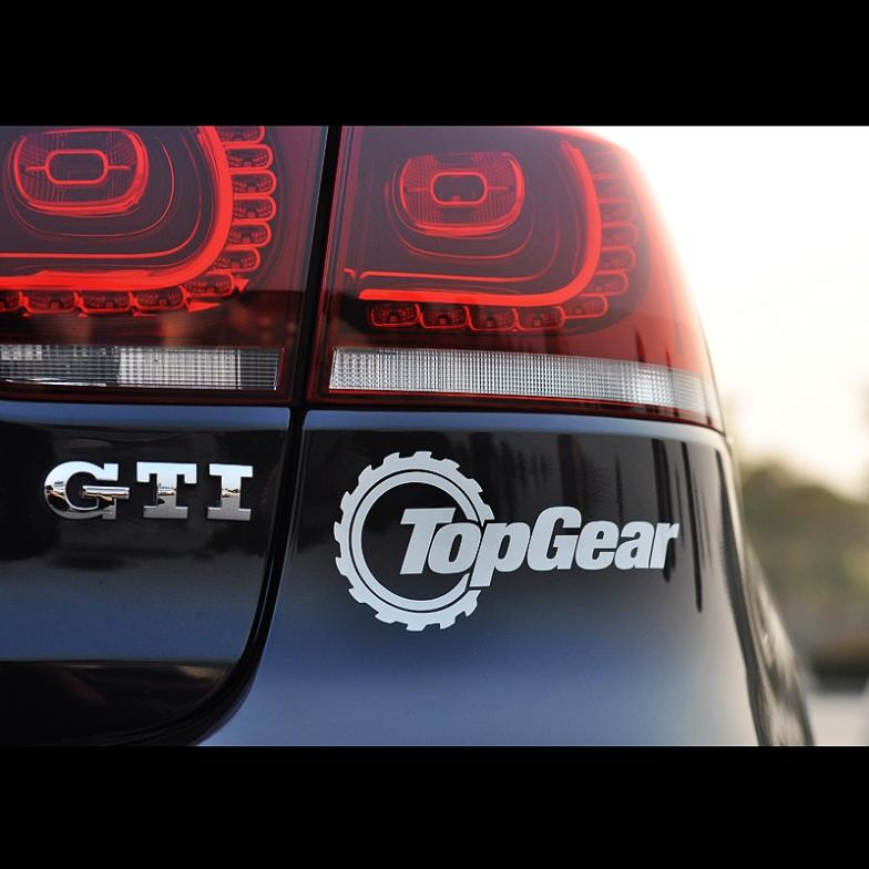 car styling vw topgear funny stickers vinyl decals volkswagen tiguan polo golf - FASHION STICKERS store