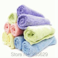 Free Shipping,32g Square Bamboo Fiber Bath Towel,Eco-friendly 26cm*26cm,anti-bacterial bamboo towel,Sent Randomly, Square Towel(China (Mainland))