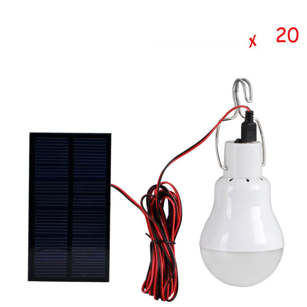 20 pcs per lot hotsale Solar panel 2W LED bulb LED Solar Lamp Solar Power LED Light Outdoor Solar Lamp Spotlight Garden Light(China (Mainland))