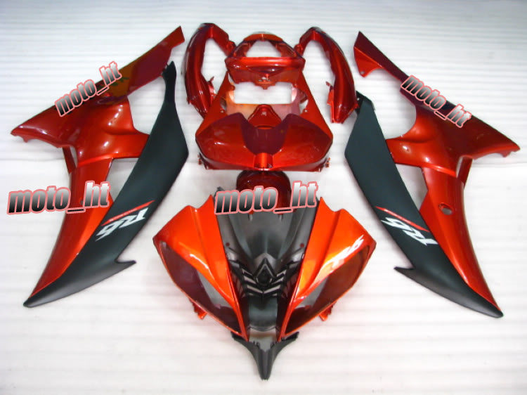 Custom ABS Motorcycle Plastic Set Fairing Cover Frame Yamaha 2008 2009 2010 YZF R6 Body Kit Work, Orange Color - Online Store 737340 store