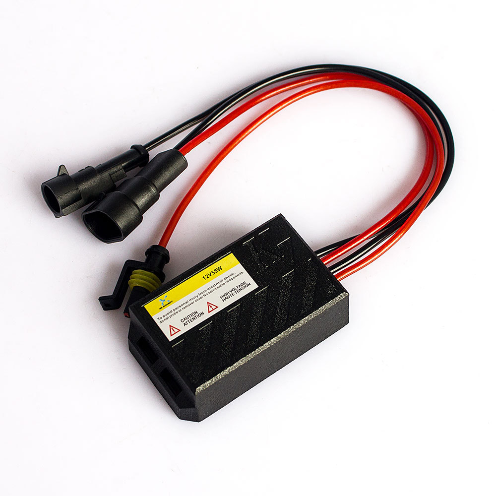 1pcs /lot 12v 55W Xenon digital HID Ballast Slim Mini Xenon digital HID Ballast For HId kit H7 H1 H3 H4 6000K fast start(China (Mainland))