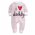 kids baby boy clothes 2016 Winter white Striped long sleeve newborn baby boy girl Romper jumpsuits