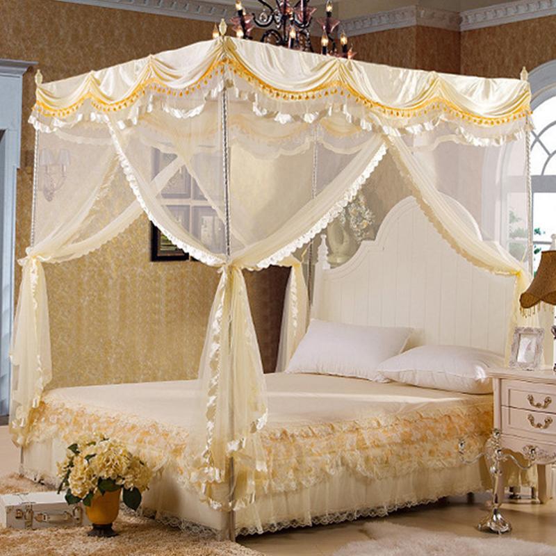 Matrimonio Bed Bugs : Compra cama con dosel de lujo online al por mayor china