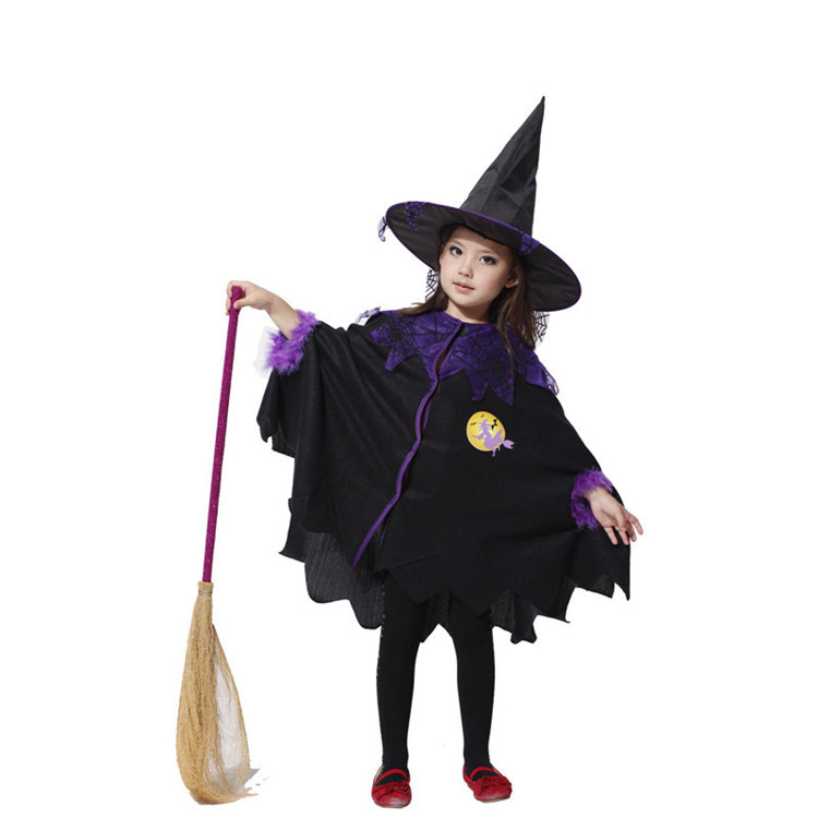 Kids Halloween Witch Costumes Witch Halloween Costumes