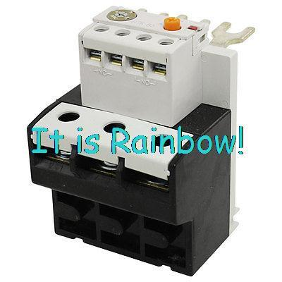 Free Shipping Adjustable Three Phase 63-85A Setting Range Thermal Overload Relay<br><br>Aliexpress