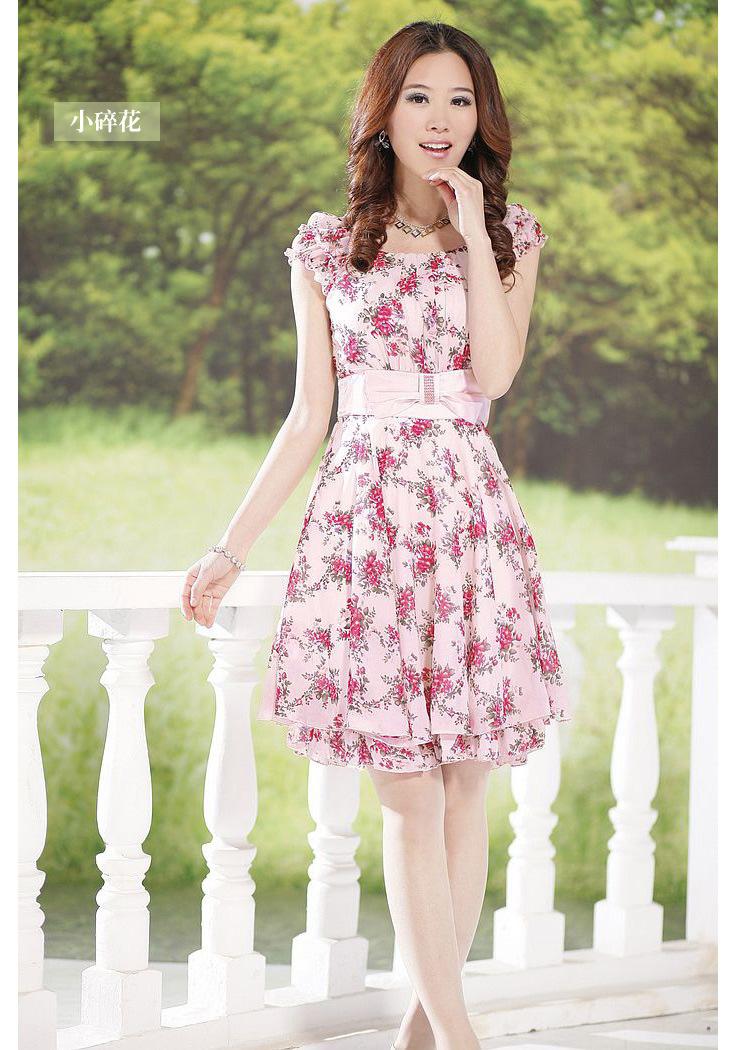 Floral Summer Dresses For Juniors