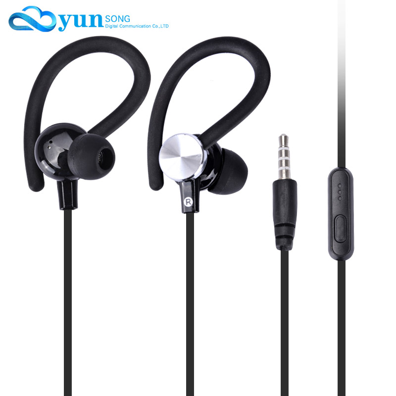 Original NEW Stereo Bass earphone In-Ear Headphones 3.5mm handsfree Sport Headset With Mic for All Mobile Phone MP3 MP4 Player(China (Mainland))