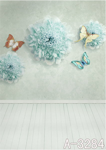 600CM*300CM Butterflies backdrop photography mini backgrounds studio backgrounds LK 3891<br><br>Aliexpress