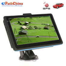 7 Inch 800×480 HD 4GB/128MB Car GPS Navigation Navigator, Touch Screen/ Bluetooth Hands Free/ MP3 MP4/ AV IN, Free Shipping