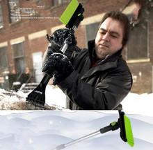 Бесплатная доставка оригинальное качество + 3 в 1 выдвижной скребок снег щетка лед снег мороз для снятия чистый инструмент