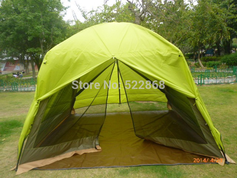 2014 new style good quality big space double layer waterproof 320*320*240 family party tent<br><br>Aliexpress