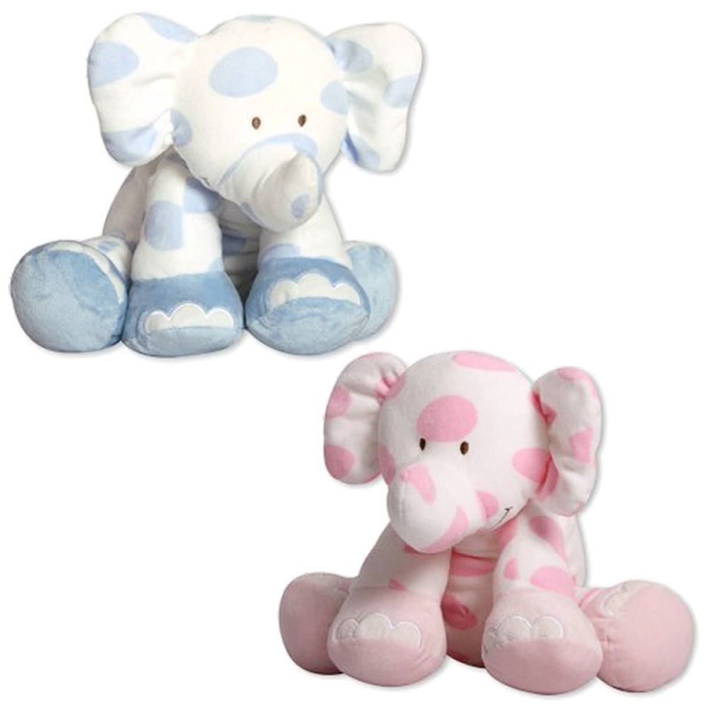 blue&pink Elephant infant baby appease toy baby toys cute elephant plush animal toys for baby birthday gift(China (Mainland))
