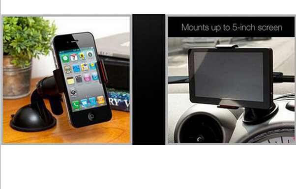 Car Stick Windshield Mount Stand Holder for Cellphone Mobile Phone GPS Universal 09OO