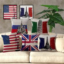 The Flag Decorative Pillow Covers Cushion Cover